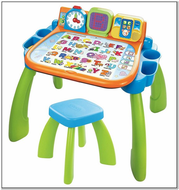 Vtech Learning Table With Chalkboard