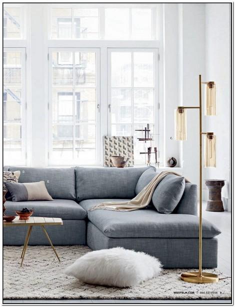 West Elm Shelter Sofa For Sale