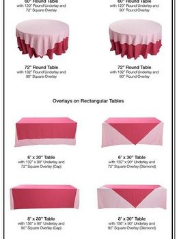 What Size Tablecloth Do You Need For A 6 Foot Round Table