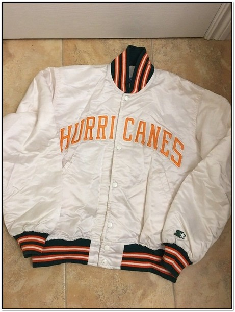 1980 Miami Hurricanes Starter Jacket