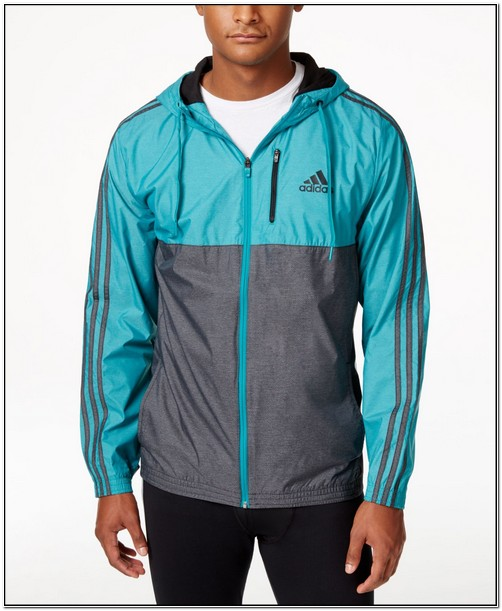 Adidas Essential Woven Jacket Blue