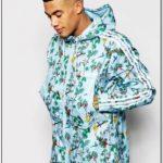 Adidas Floral Bomber Jacket Mens