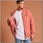 Adidas Pink Bomber Jacket Mens