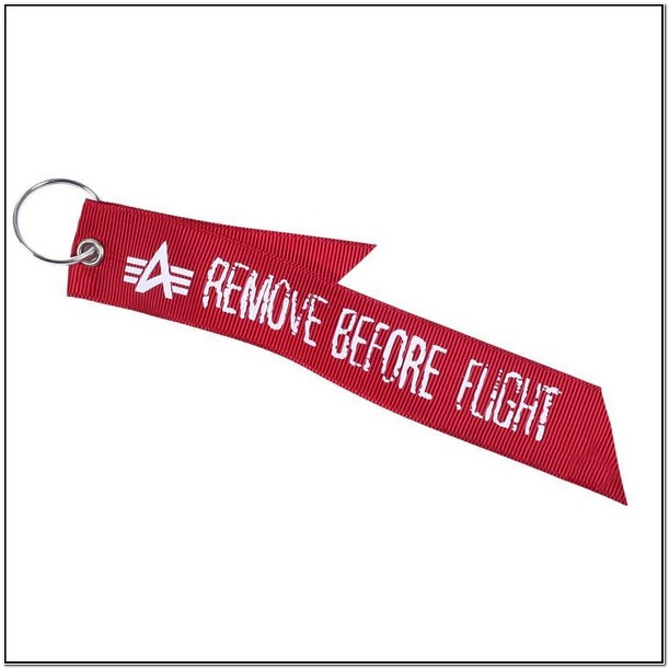 Alpha Jacket Remove Before Flight