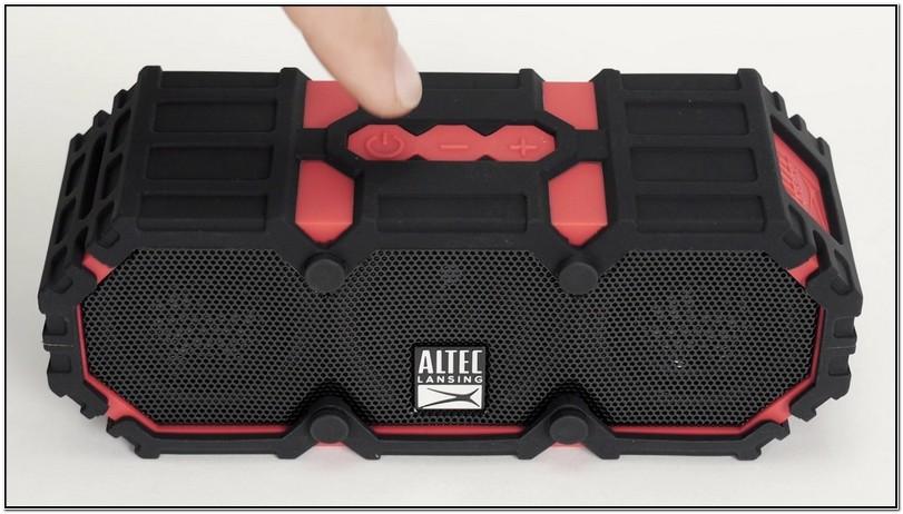 Altec Lansing Mini Life Jacket 2 Pairing
