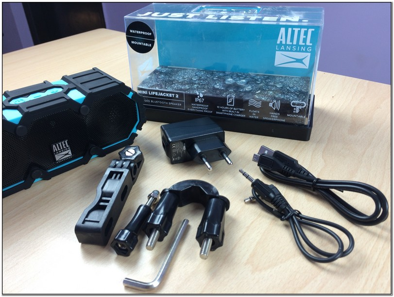 Altec Lansing Mini Life Jacket 2 Specs