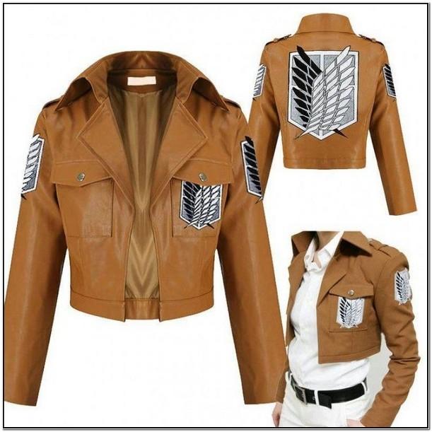 Aot Leather Jacket