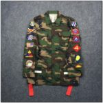 Army Fatigue Jacket With Patches