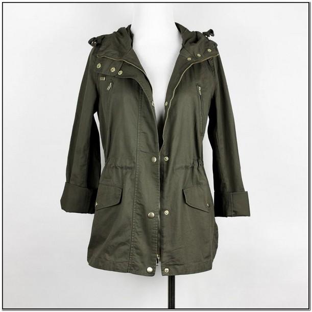 Army Green Utility Jacket Womens