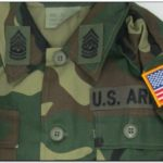 Army Jacket Name Patches