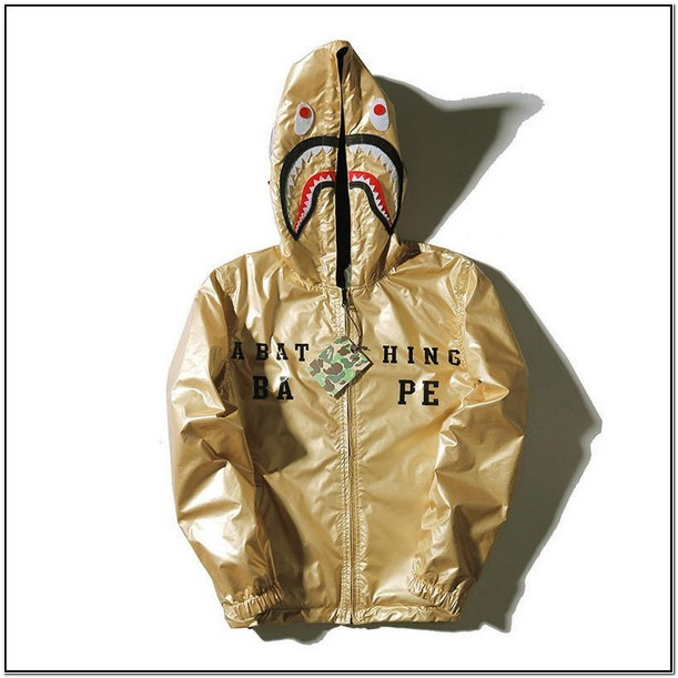 Authentic Gold Bape Jacket