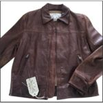 Banana Republic Mens Leather Jacket
