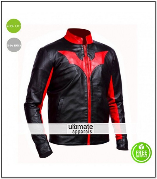 Batman Beyond Motorcycle Jacket