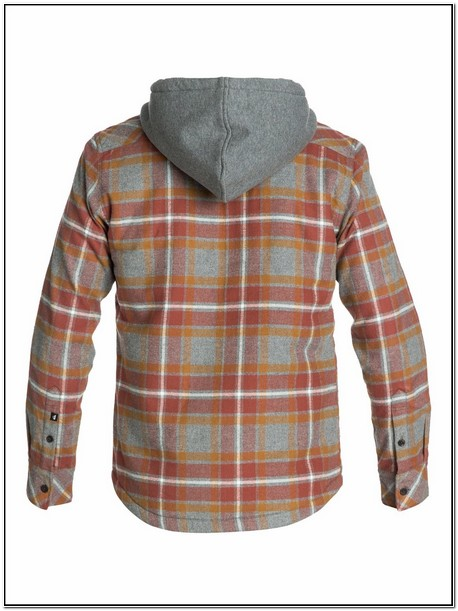 Bc Clothing Mens Flannel Shirt Jacket With Hood