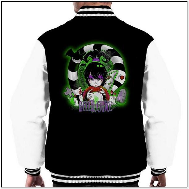 Beetlejuice Jacket Mens
