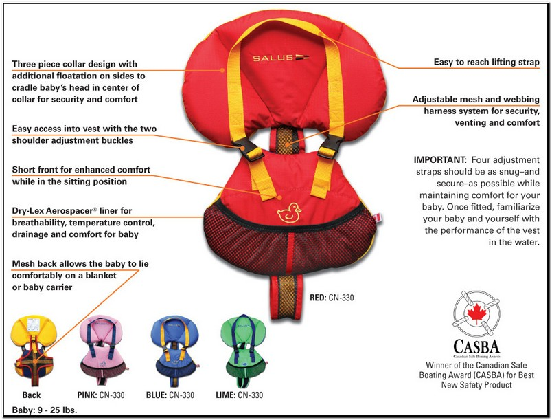 Best Infant Life Jacket Australia