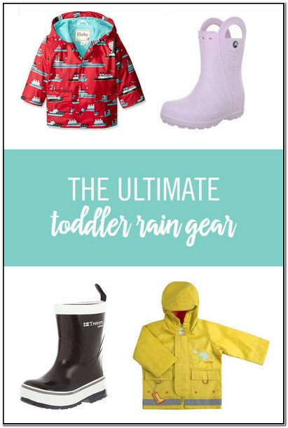 Best Toddler Boy Rain Jacket