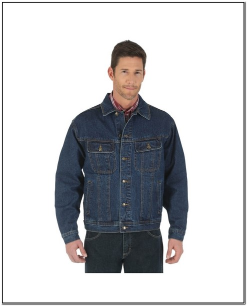 Big And Tall Mens Denim Jackets