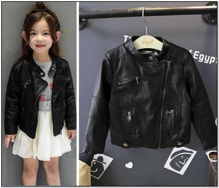 Black Baby Girl Bomber Jacket