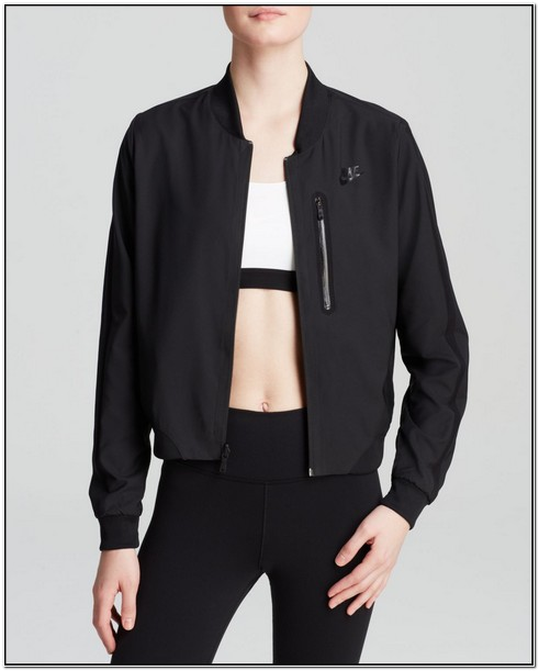 Black Nike Bomber Jacket Womens