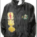 Black Omega Psi Phi Jacket