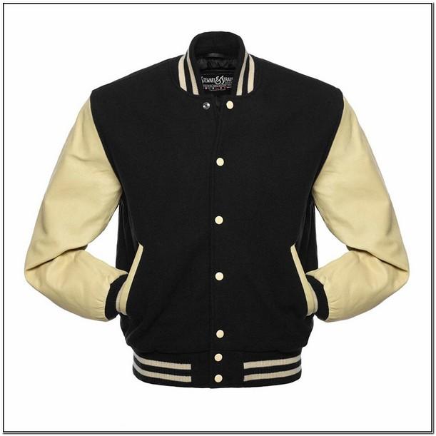 Blank Letterman Jacket