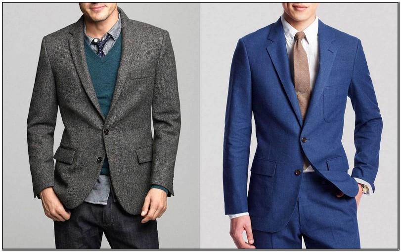 Blue Blazer Vs Suit Jacket