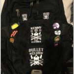 Bullet Club Jacket Patch