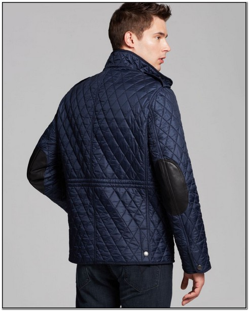 Burberry Brit Mens Diamond Quilted Jacket