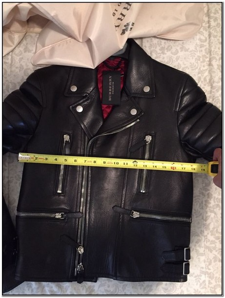 Burberry Mens Leather Jacket Ebay