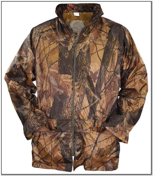 Camo Jacket Mens Waterproof