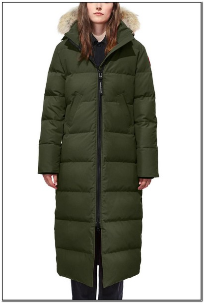Canadian Goose Down Jacket Womens