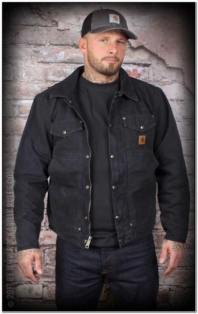 Carhartt Berwick Jacket Black
