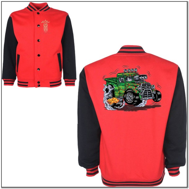 Cartoon Race Car Jackets