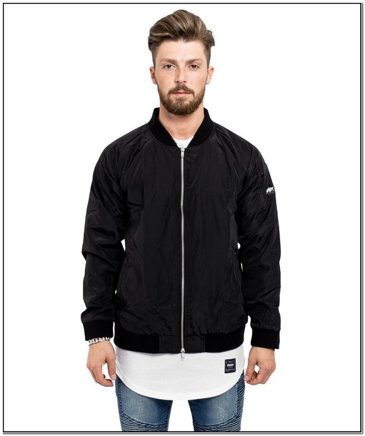 Cheap Bomber Jackets Mens Black