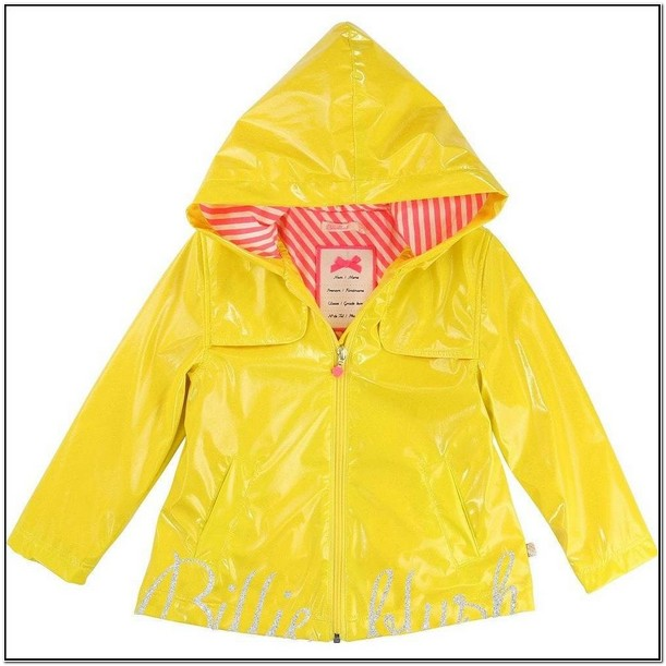 Childrens Yellow Rain Jacket
