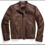 Coach Mens Bleecker Leather Jacket