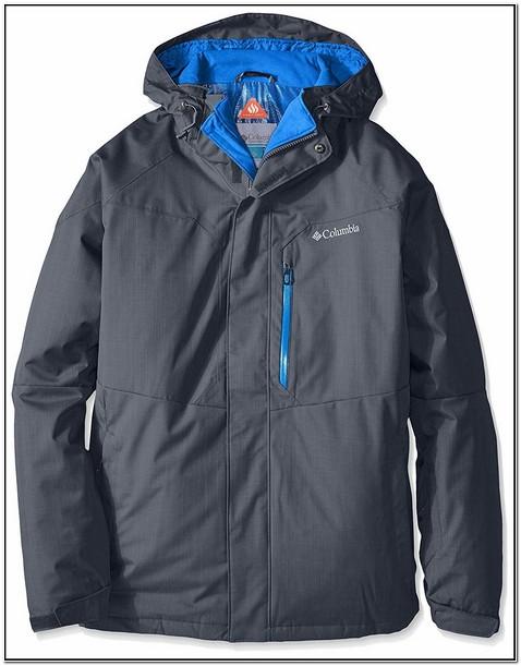 Columbia Mens Alpine Action Jacket Graphite & Super Blue