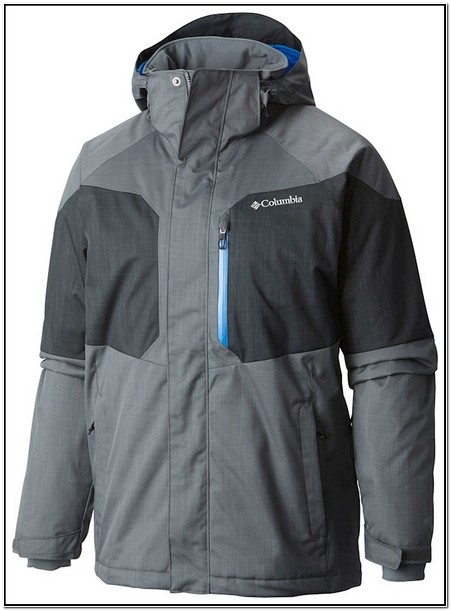 Columbia Mens Alpine Action Jacket Waterproof Jacket