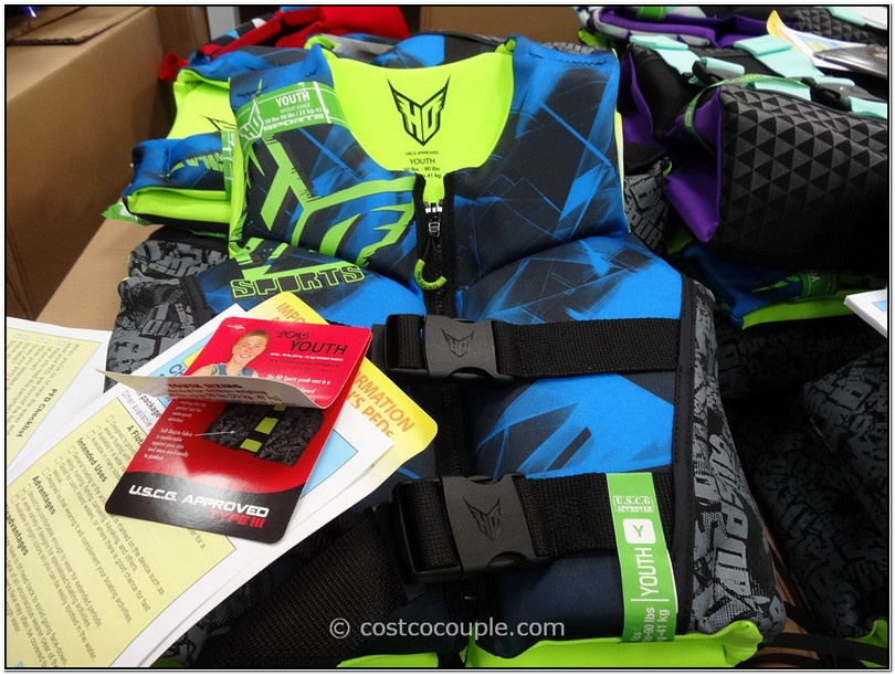 Costco Neoprene Life Jackets