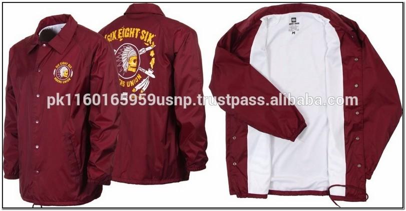 Custom Embroidered Windbreaker Jackets