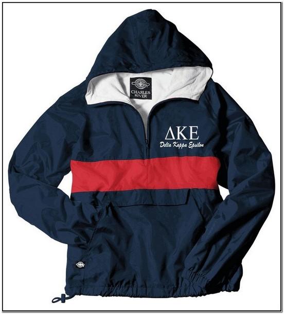 Custom Greek Coach Jacket