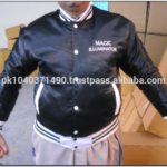 Custom Made Satin Baseball Jackets