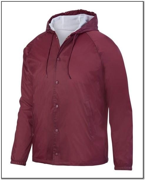 Custom Nylon Coach Jacket