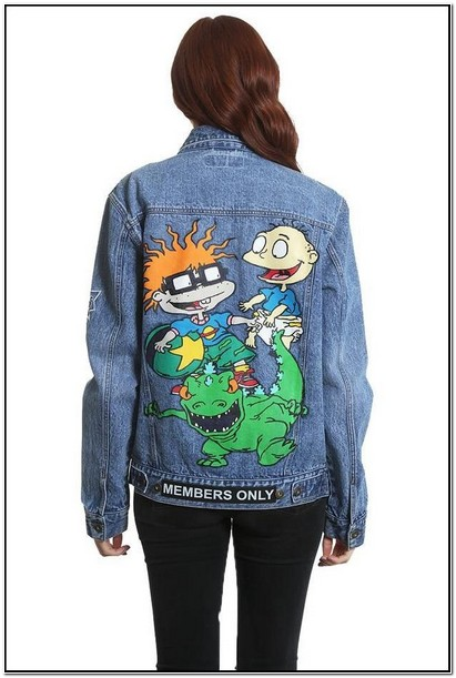 Custom Rugrats Jacket