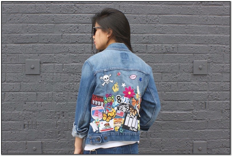 Customize Your Own Jean Jacket