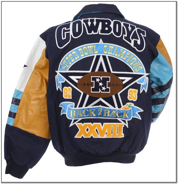 Dallas Cowboys Commemorative Leather Jacket