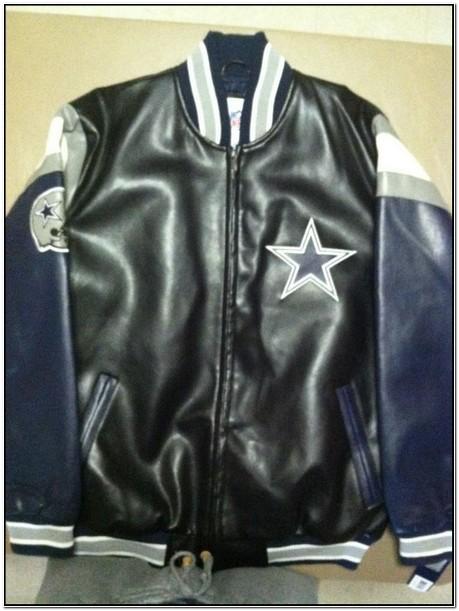 Dallas Cowboys Faux Leather Jacket