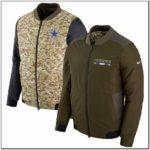 Dallas Cowboys Nike Salute To Service Sideline Hybrid Jacket