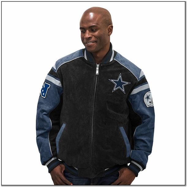 Dallas Cowboys Suede Leather Jacket